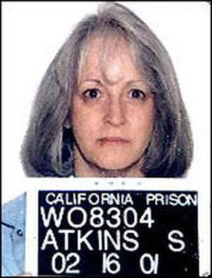 Former Manson Family member Susan Atkins dies at the age of 61