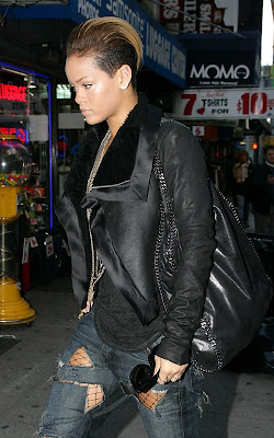 hollywood, celebrity, Rihanna, hair style