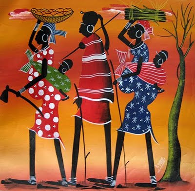 African  on African Art Photos