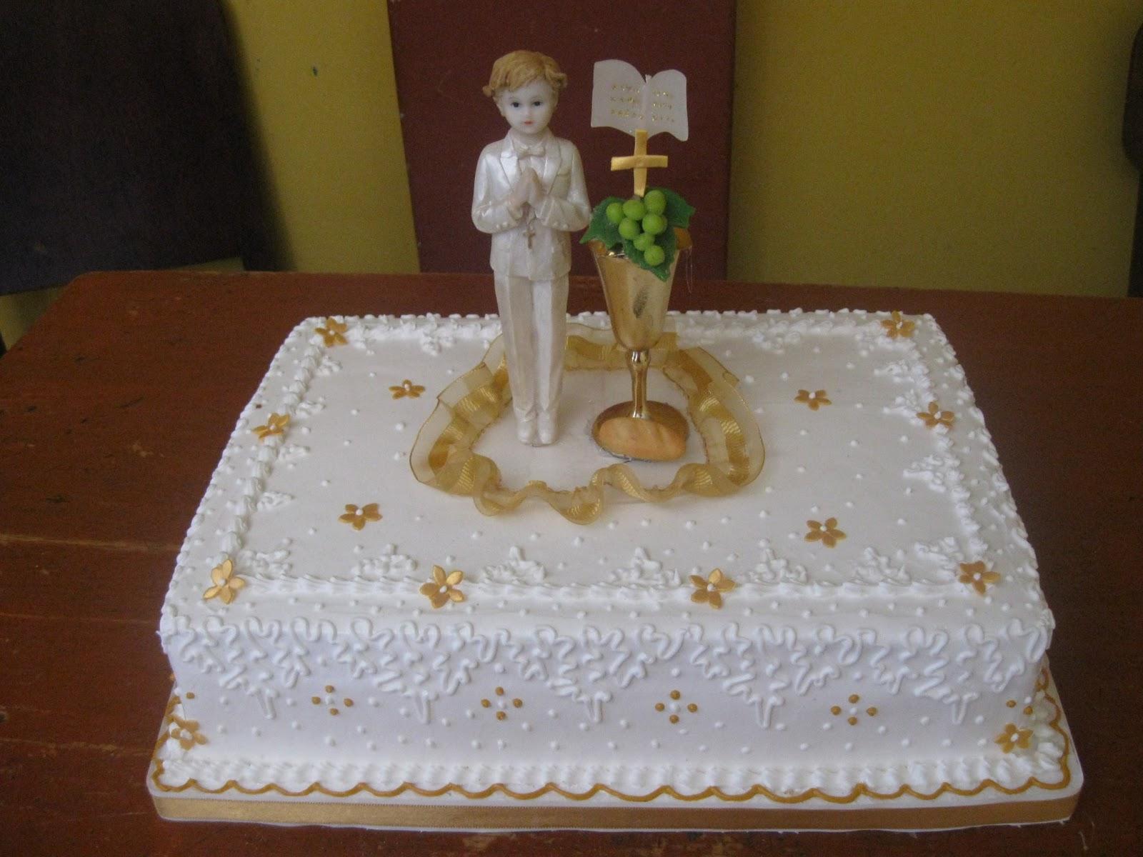 Tortas para primera comunion de niña - Imagui