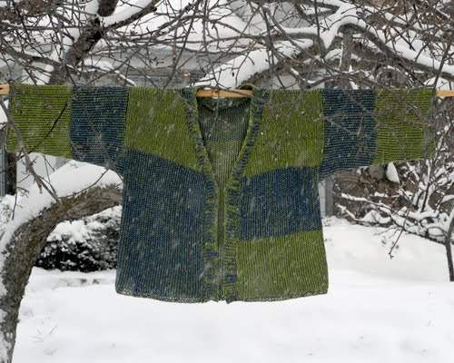 Kimono Jacket in a Snowstorm...February 9th