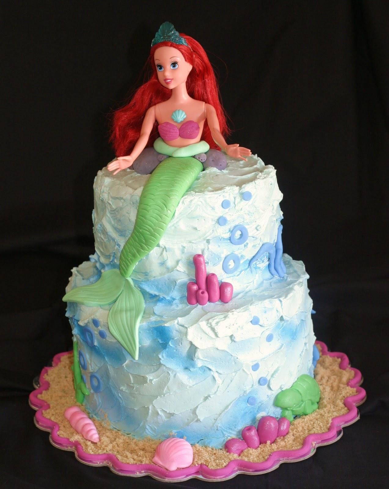 Pink Little Cake: Mermaid Cake