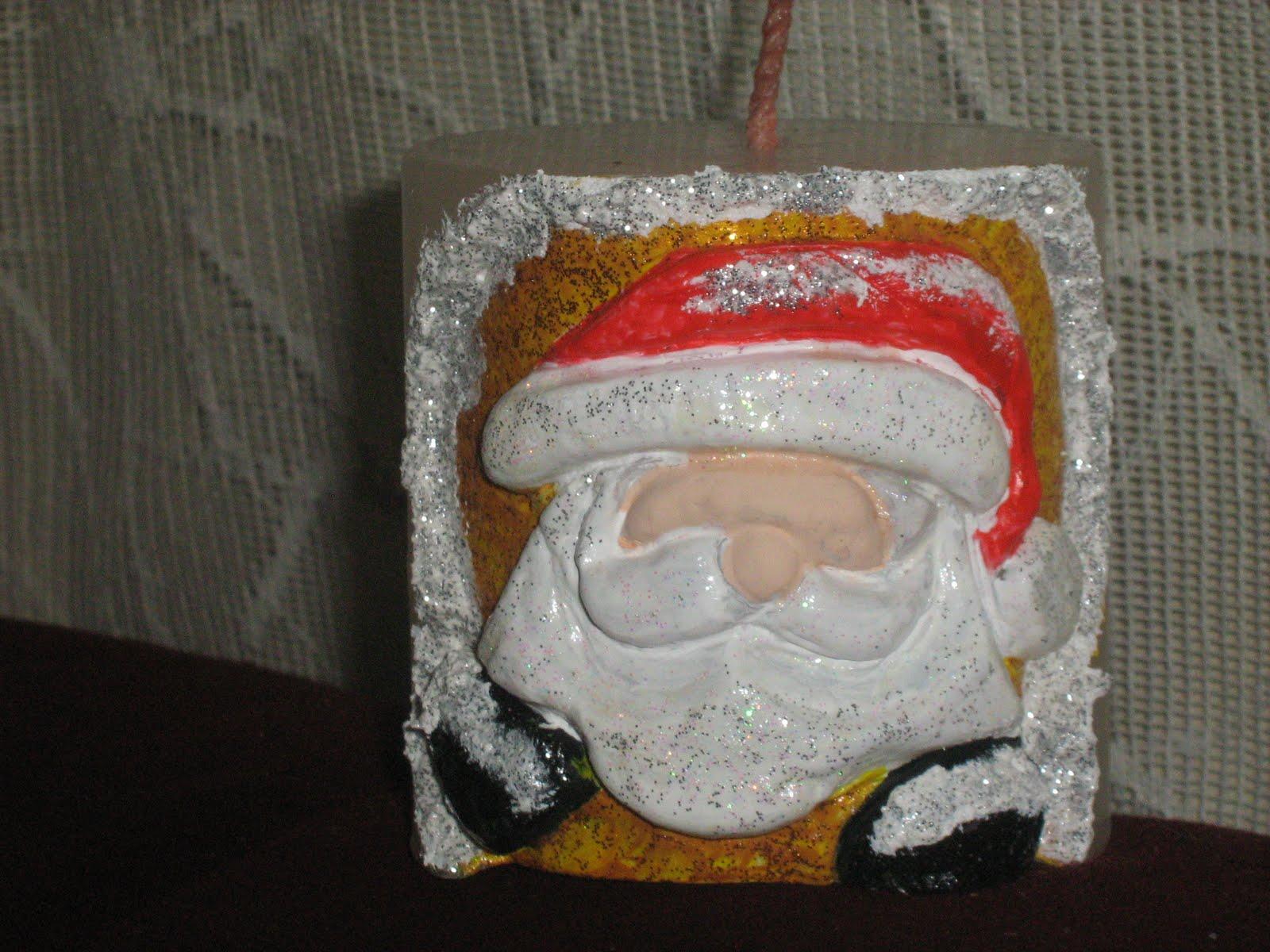 El rincon de giovi cuadrito de bebe y velas talladas - Velas talladas ...