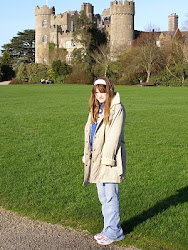 My youngest daughter Heather in Ireland