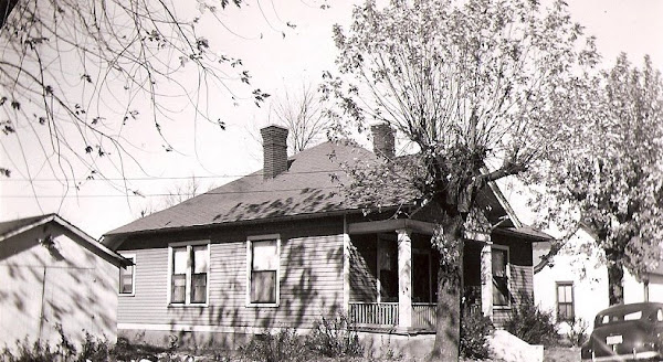 Jim & Bess' new home - 17th Street, Hopkinsville, KY