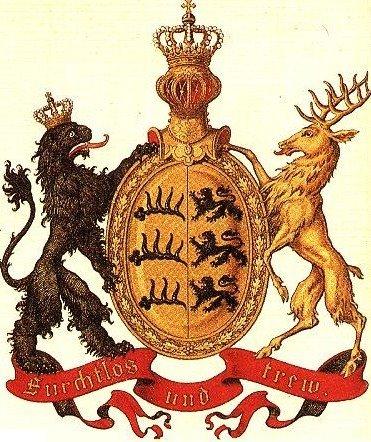 WOLFE crest