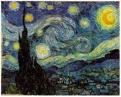 Starry Night (1889) van Gogh