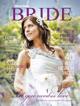 Geelong Advertiser Bride Magazine 2010