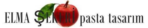 Elma Şekeri pasta tasarım