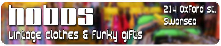 hobos swansea vintage clothing and funky gifts