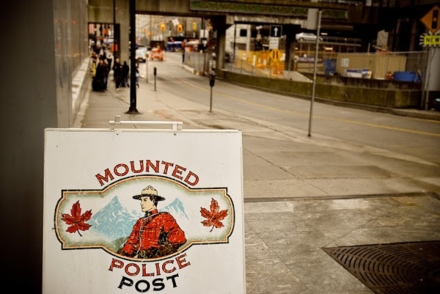 mounted police vancouver canada