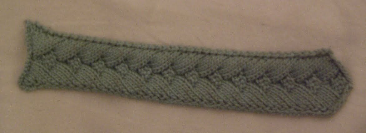 Knit Stitch Bookmark : Stitch In Time: Knitted bookmarks