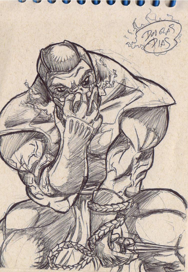 De Um Dos Grandes Ninjas Da S  Rie De Games Mortal Kombat  Scorpion