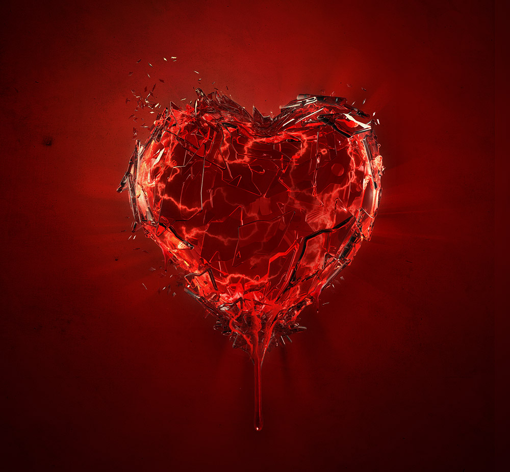 heart broken kid� my broken hearts
