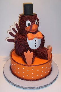 groom's cake, Virginia Tech Hokie