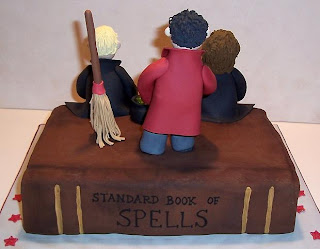 The Icing on the Cake: Harry Potter Cake and Cupcakes