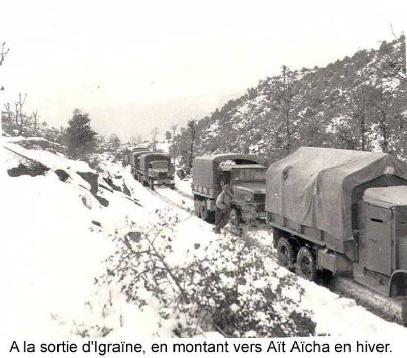Hacene zemirline convoi militaire du 27e bca en haute for Haute kabylie
