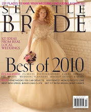 Nominated/Runner Up for Seattle Bride's Best Wedding Planner of 2010