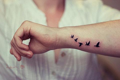 love bird tattoo. I love bird tattoos!