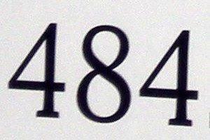 484 has exactly nine divisors: 1, 2, 4, 11, 22, 44, 121, 242, 484.