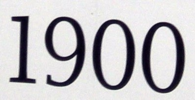 NumberADay: 1900