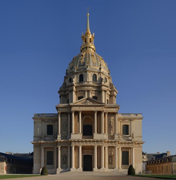 Paris sehensw rdigkeiten invalidendom for Esterno pantheon