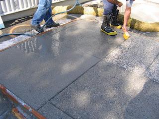 Norcal q 39 s a 39 s acid wash sandblast concrete finish for Acid wash concrete driveway