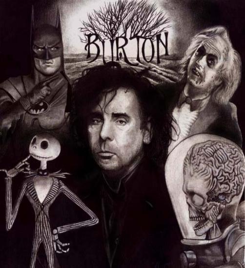 Tim Burton - Alicia en el Pais de las Maravillas y Mas!
