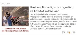 Nota de Prensa en Raiz Argentina por Eduardo Aldiser