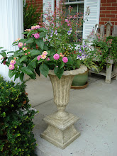 Front porch urns