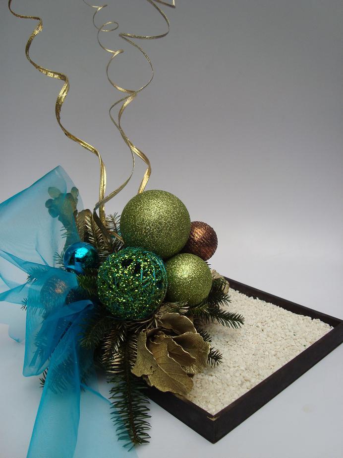 Floreria al natural diciembre 2010 - Centros navidenos de mesa ...