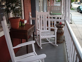 our front porch...Pennsylvania 2010