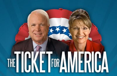 sarah palin, john mccain, vice president, republican ticket