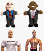 action figure, obama, mccain