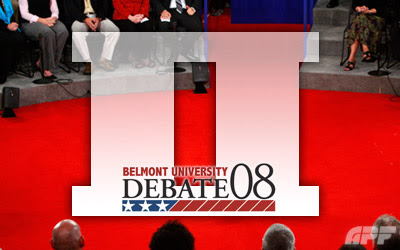 belmont, second debate, obama, mccain