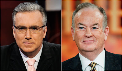 bill o'reilly, keith olbermann, feud