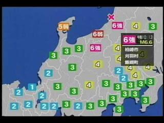 Niigata Earthquate