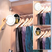 Closet Light Hidden Wall Safe