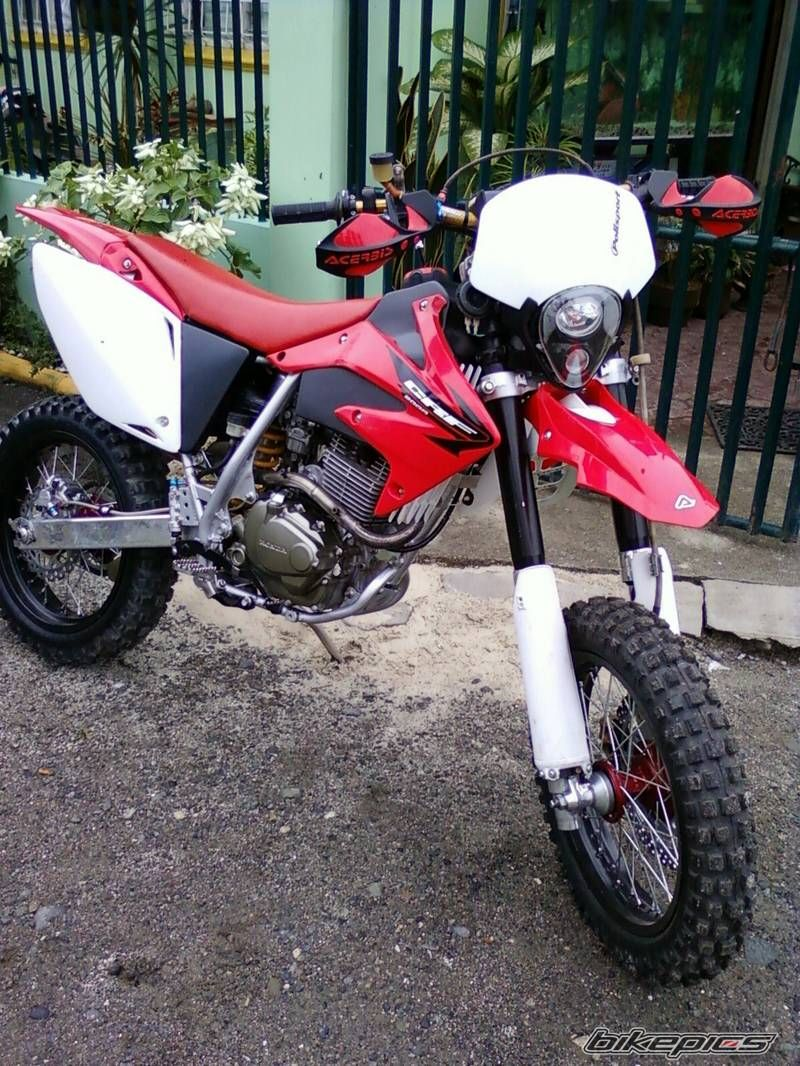 Modified XR: Basic mods and accessories for Honda XR 200