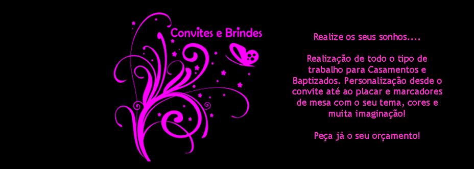 Convites e Brindes