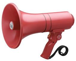 Ahora, si tenemos megáfono para el manifiesto del acto