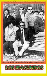 EDUARDO  FRANCO CON LOS IRACUNDOS -  AÑO 1985