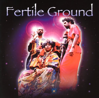 Cover Album of Fertile Ground - Spiritual War / 1999 CD