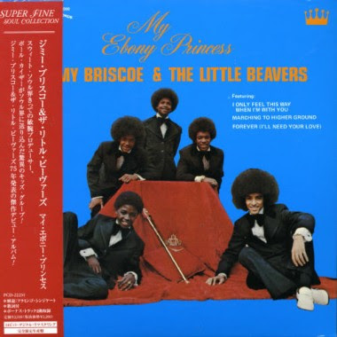 Jimmy Briscoe & The Little Beavers My Ebony Princess - 1975