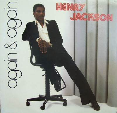 "Cover Album of HENRY JACKSON  - 1982 ""again  & again  """