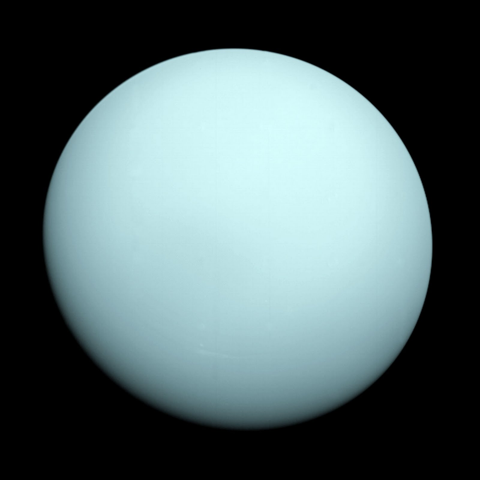 Uranus From Voyager 2 wallpapers