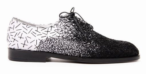 Embroidery as Art: Raf Simons Embroidered Shoes