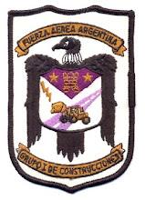 Distintivo del Grupo I de Construcciones ABASPAL (antiguo):