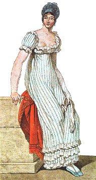 Muotia vuodelta 1810.