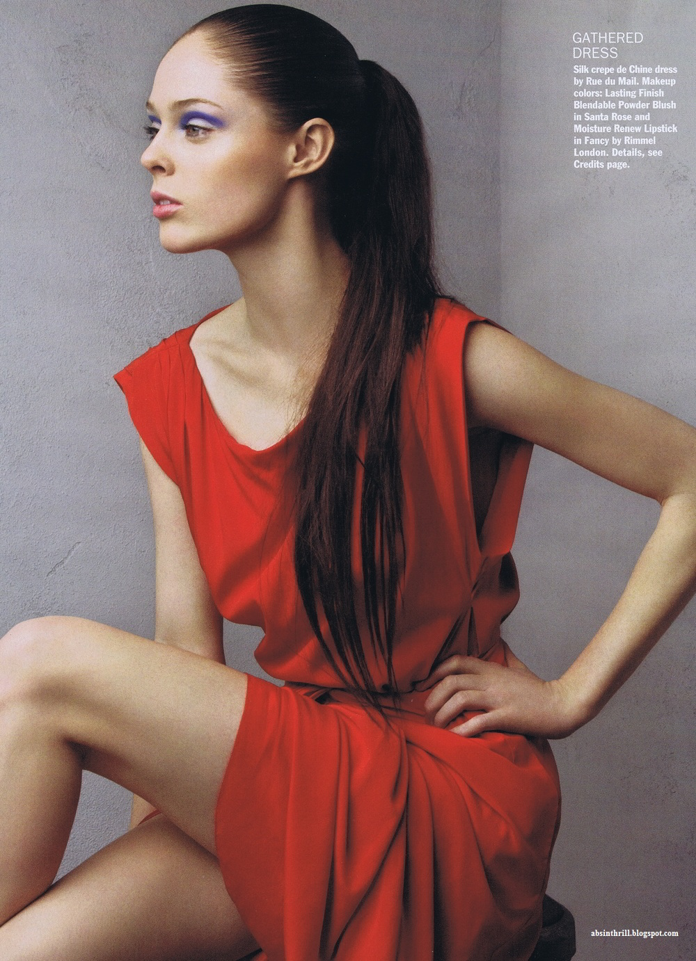 Coco Rocha In Allure